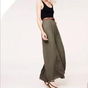Loft Lou & Grey Colorblock Maxi Dress Sz M